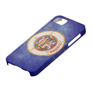 Bandera del estado de Minnesota iPhone 5 Carcasas