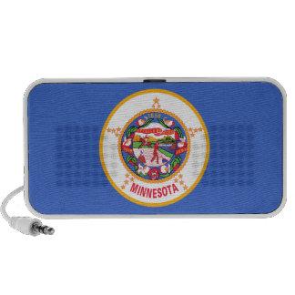 Bandera del estado de Minnesota iPod Altavoces