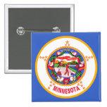 Bandera del estado de Minnesota Pins