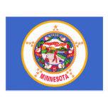 Bandera del estado de Minnesota Postal