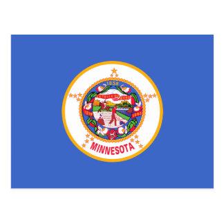 Bandera del estado de Minnesota Tarjetas Postales