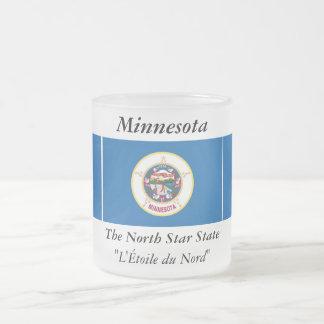 Bandera del estado de Minnesota Taza De Cristal
