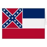 Bandera del estado de Mississippi Felicitaciones