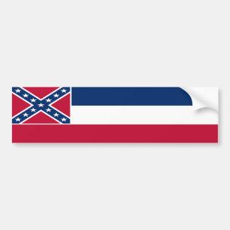 Bandera del estado de Mississippi Pegatina Para Auto