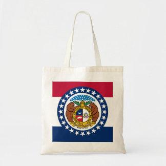 Bandera del estado de Missouri Bolsa Tela Barata