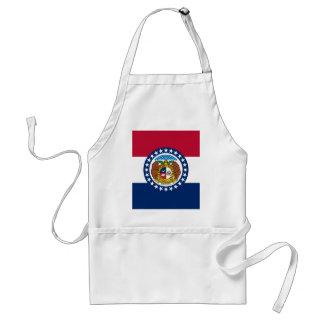 Bandera del estado de Missouri Delantal