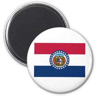 Bandera del estado de Missouri Iman De Nevera