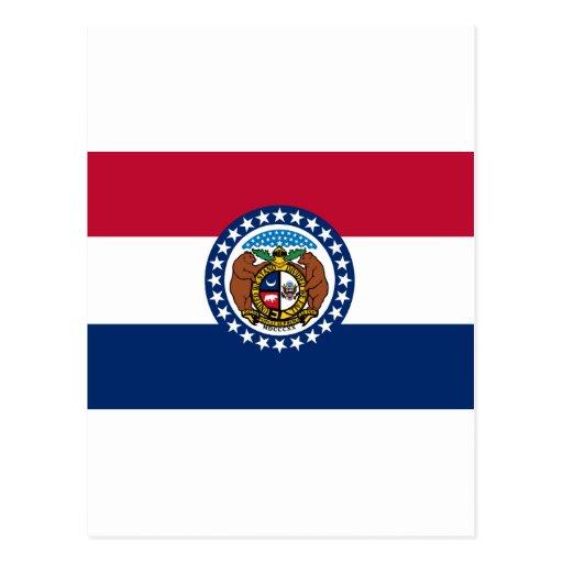 Bandera del estado de Missouri Postales