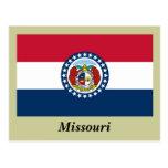 Bandera del estado de Missouri Tarjetas Postales