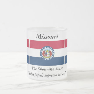 Bandera del estado de Missouri Taza De Cristal
