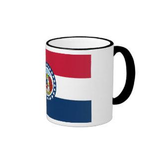 Bandera del estado de Missouri Taza De Dos Colores