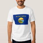 Bandera del estado de Montana Camisas