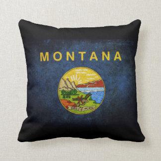 Bandera del estado de Montana Almohadas