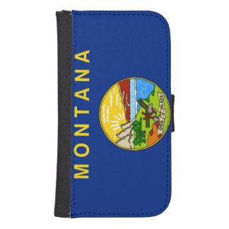 Bandera del estado de Montana Funda Billetera Para Teléfono