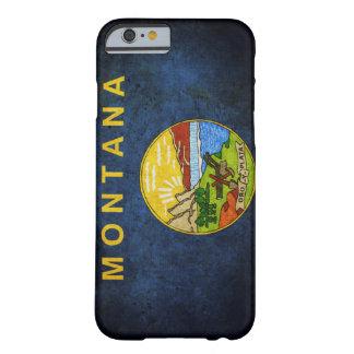 Bandera del estado de Montana Funda Para iPhone 6 Barely There