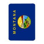 Bandera del estado de Montana Imanes Flexibles