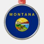 Bandera del estado de Montana Ornato
