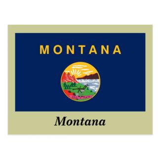 Bandera del estado de Montana Postales