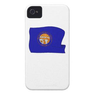 Bandera del estado de Nebraska Case-Mate iPhone 4 Protector