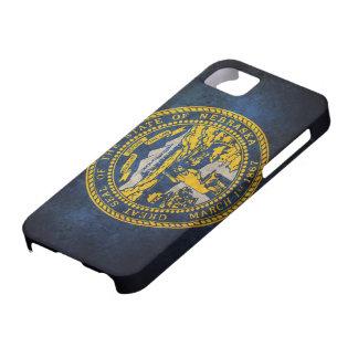 Bandera del estado de Nebraska iPhone 5 Case-Mate Funda