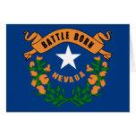 Bandera del estado de Nevada Felicitacion