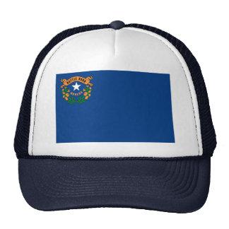 Bandera del estado de Nevada Gorras De Camionero