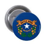 Bandera del estado de Nevada Pin