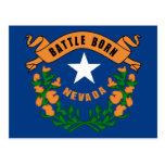 Bandera del estado de Nevada Postales