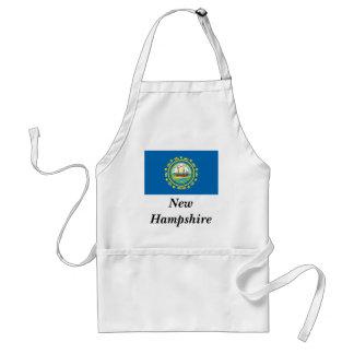 Bandera del estado de New Hampshire Delantales