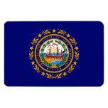 Bandera del estado de New Hampshire Imanes Flexibles