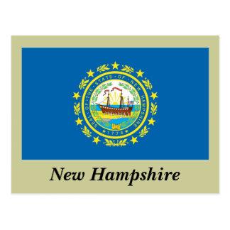 Bandera del estado de New Hampshire Postal