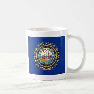 Bandera del estado de New Hampshire Taza De Café