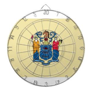 Bandera del estado de New Jersey Tablero De Dardos