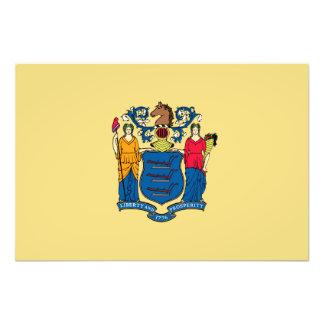 Bandera del estado de New Jersey Impresiones Fotográficas