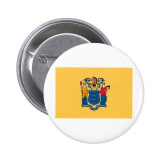 Bandera del estado de New Jersey Pins