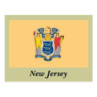 Bandera del estado de New Jersey Postal