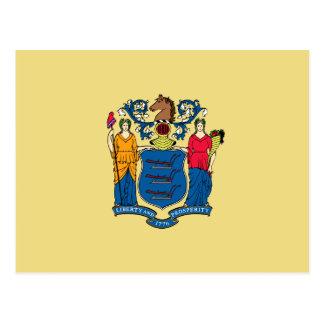 Bandera del estado de New Jersey Postales