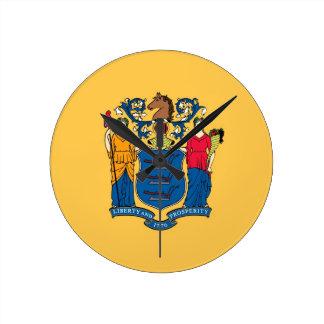 Bandera del estado de New Jersey Relojes