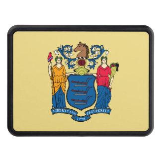 Bandera del estado de New Jersey Tapas De Remolque