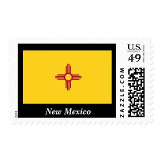 Bandera del estado de New México Estampilla
