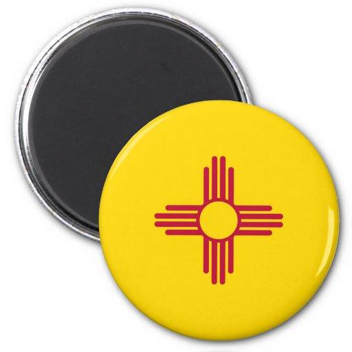 Bandera del estado de New México Imán De Frigorífico