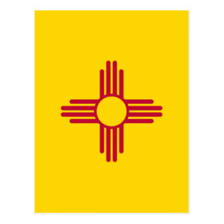 Bandera del estado de New México Postales