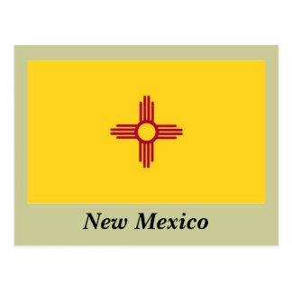 Bandera del estado de New México Tarjetas Postales