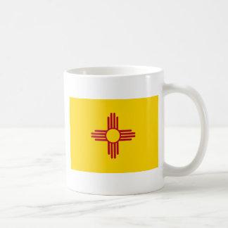 Bandera del estado de New México Taza De Café