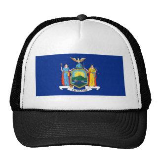 Bandera del Estado de Nuevo York Gorro De Camionero