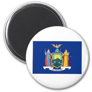 Bandera del Estado de Nuevo York Imán Para Frigorífico