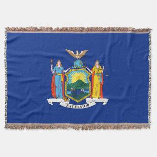 Bandera del Estado de Nuevo York Manta