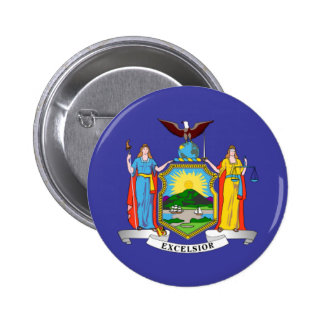 Bandera del Estado de Nuevo York Pins