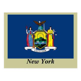 Bandera del Estado de Nuevo York Postales