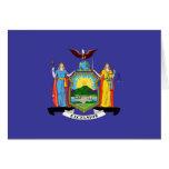 Bandera del Estado de Nuevo York Tarjeta De Felicitación